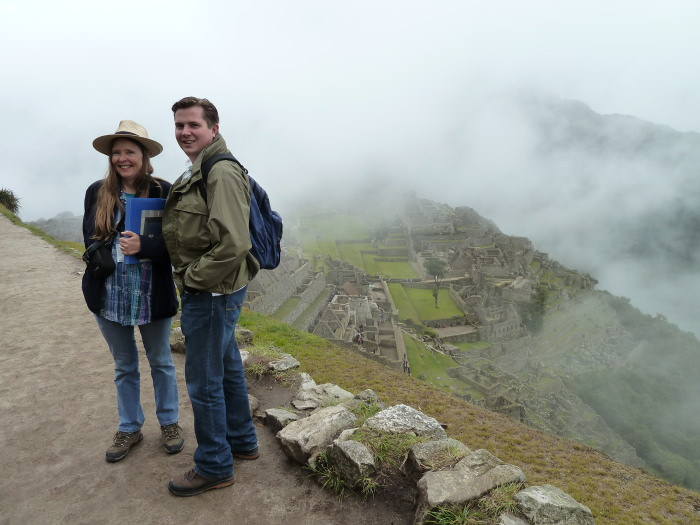 Exploring Machu Picchu - Vegetarian Peru Adventures