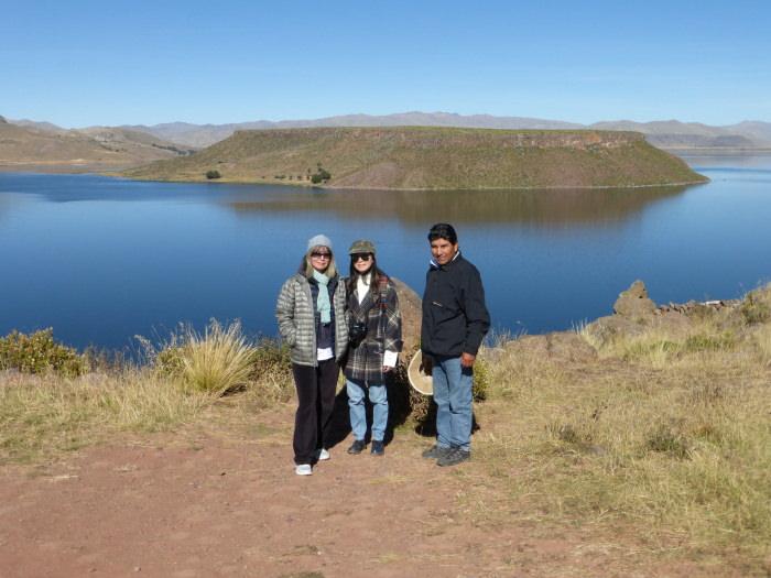 Sillustani with Lake Umayo - Vegetarian Peru Adventures