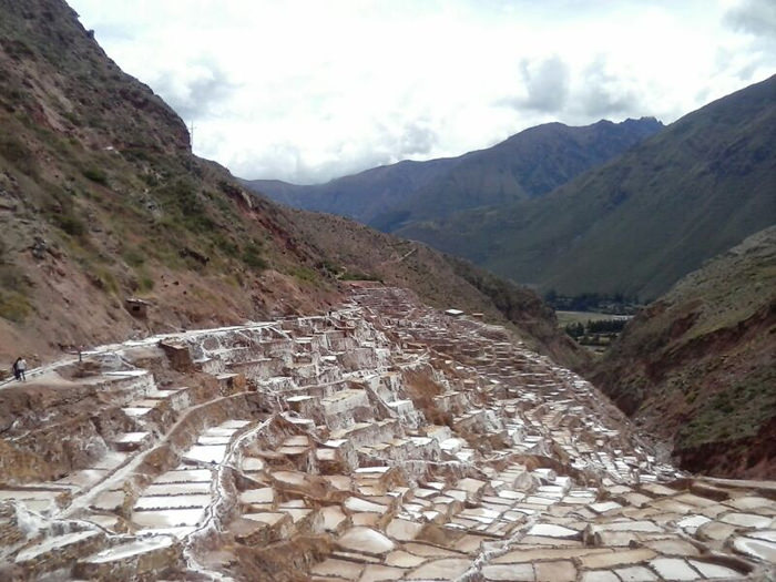 Salt Pans of Maras - Vegetarian Peru Adventures