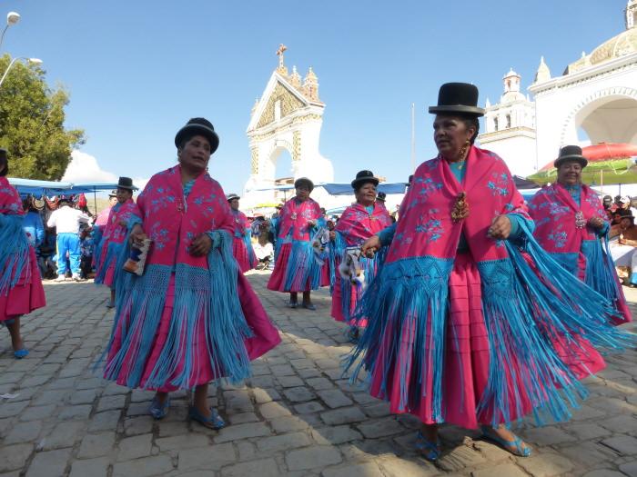 Fiesta in Copacabana - Vegetarian Peru Adventures