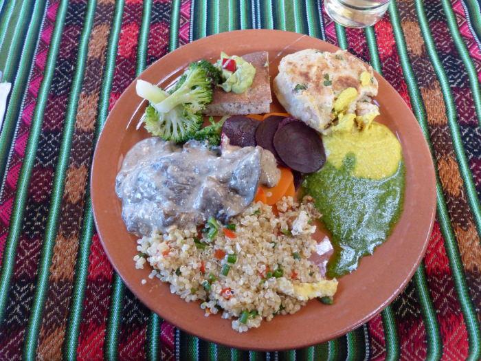 Indigenous Veggie Food - Vegetarian Peru Adventures