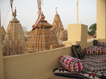 View of the Jain Temple in Jaisalmer - Vegetarian Peru Adventures