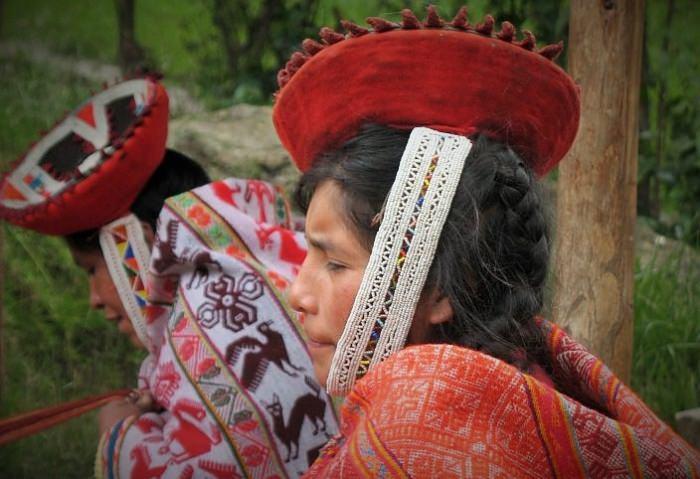 Quechua Woman in Willyoq - Vegetarian Peru Adventures