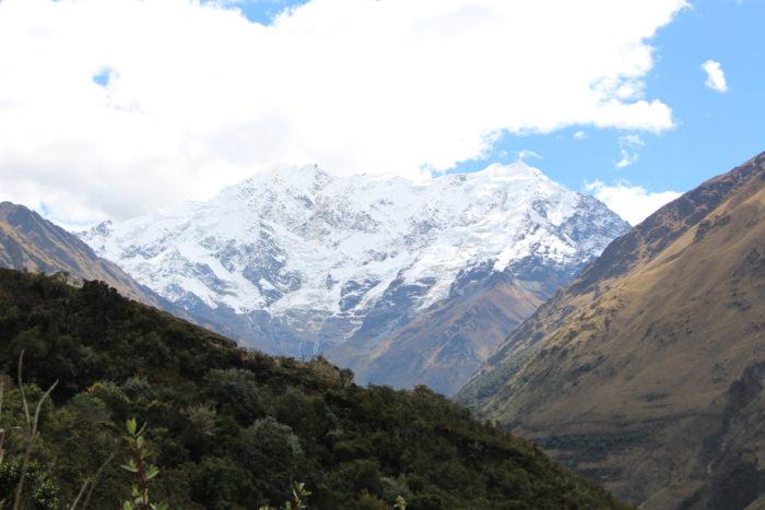Mount Humantay- Vegetarian Peru Adventures
