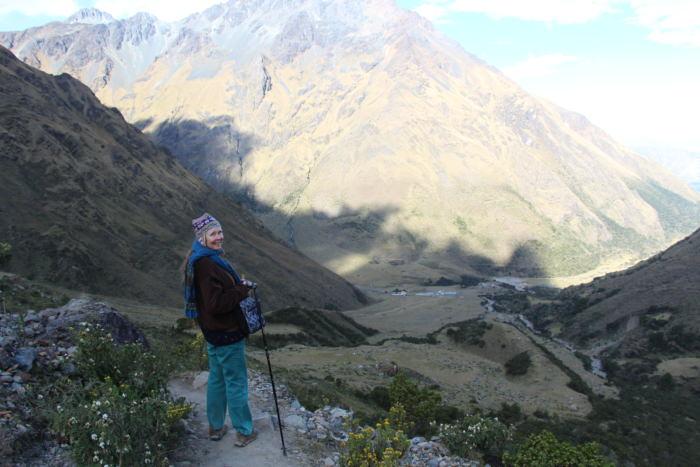 Lake Humantay - Vegetarian Peru Adventures
