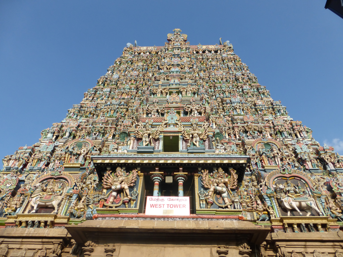 the Lakshmi Amman temple of Madurai