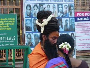 Sadhu in Madurai