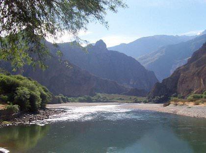 Apuirmac Fluss - Andean Spirit Lodge