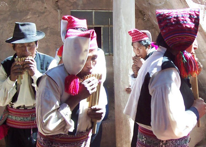 Quechua Musicians - Vegetarian Peru Adventures
