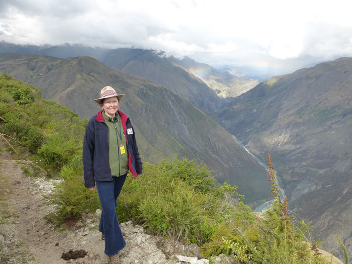 Auf dem Weg zur Apurimacschlucht - Vegetarian Peru Adventures