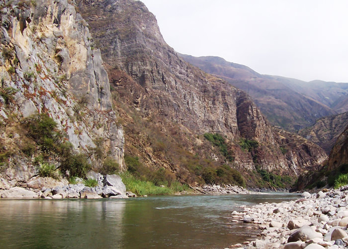 Apurimac River - Vegetarian Peru Adventures