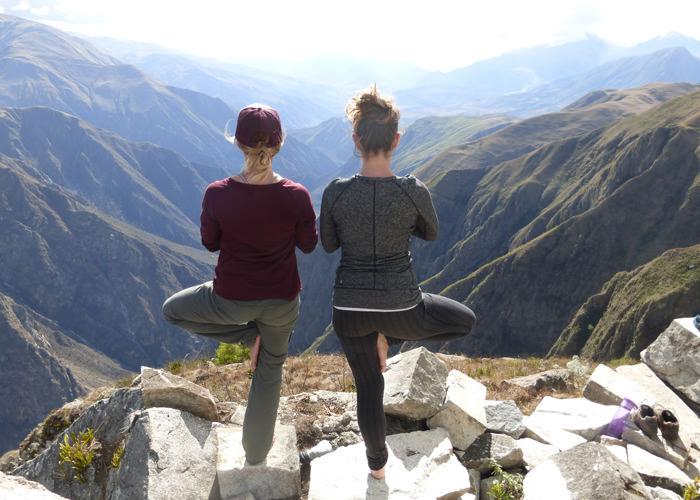Yoga in Peru - Vegetarian Peru Adventures