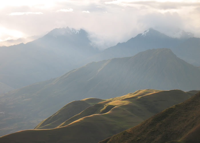 Condor Viewpoint of Chonta - Vegetarian Peru Adventures