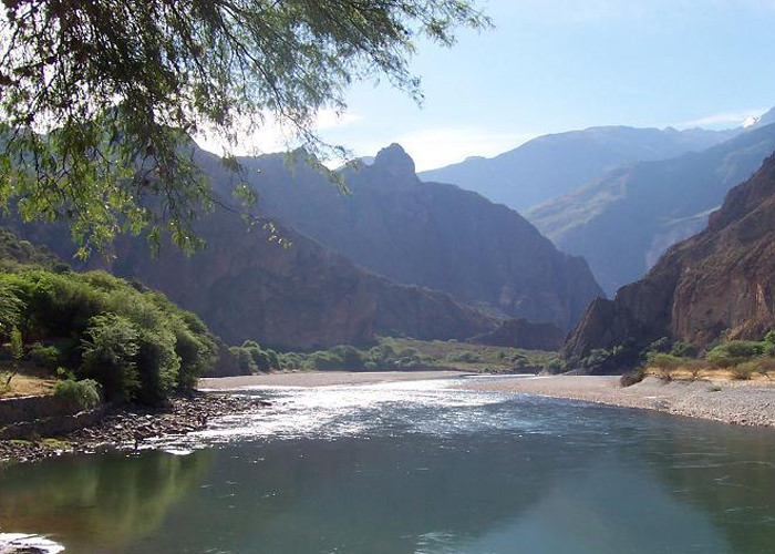 Apurimac River - Vegetarian Peru Adventures