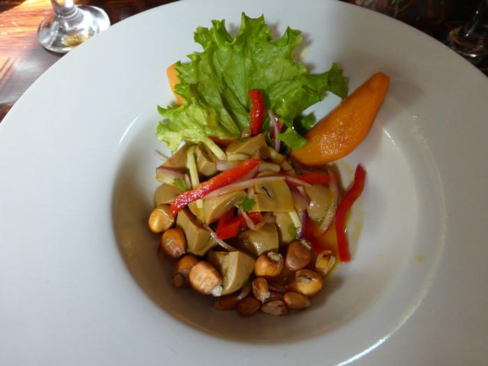 mushroom cebiche (vegan)