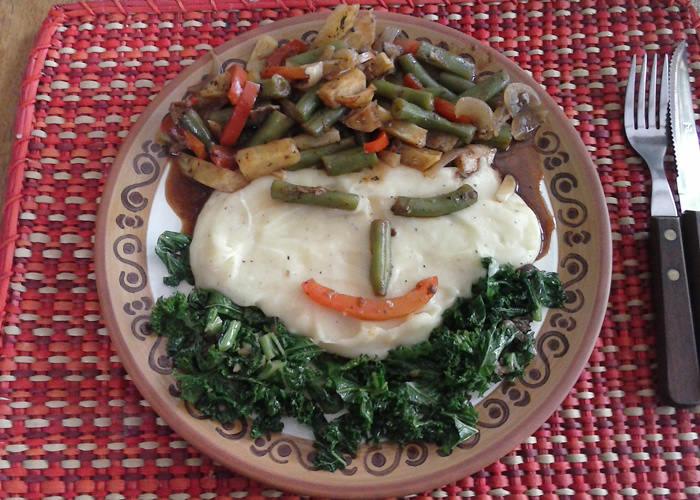 vegetarian garden food